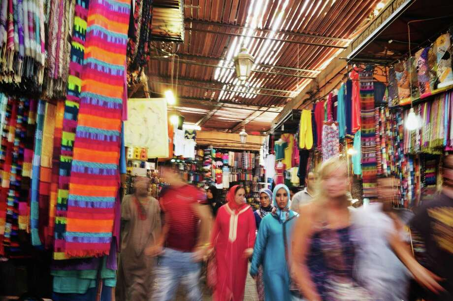 Even if you visit the markets in Marrakech, Morocco, multiple times, you still may get lost. Photo: Li Kim Goh, Contributor / Li Kim Goh