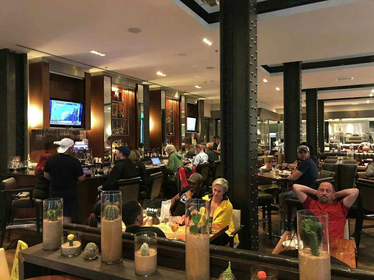 Bar and restaurant employment rebounded last month after losses following Hurricane Harvey.