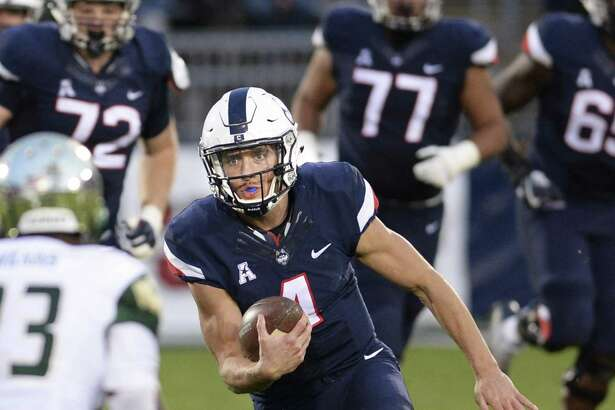 UConn quarterback Bryant Shirreffs will not suit up against Boston College after making the decision not to risk any further concussions this season.