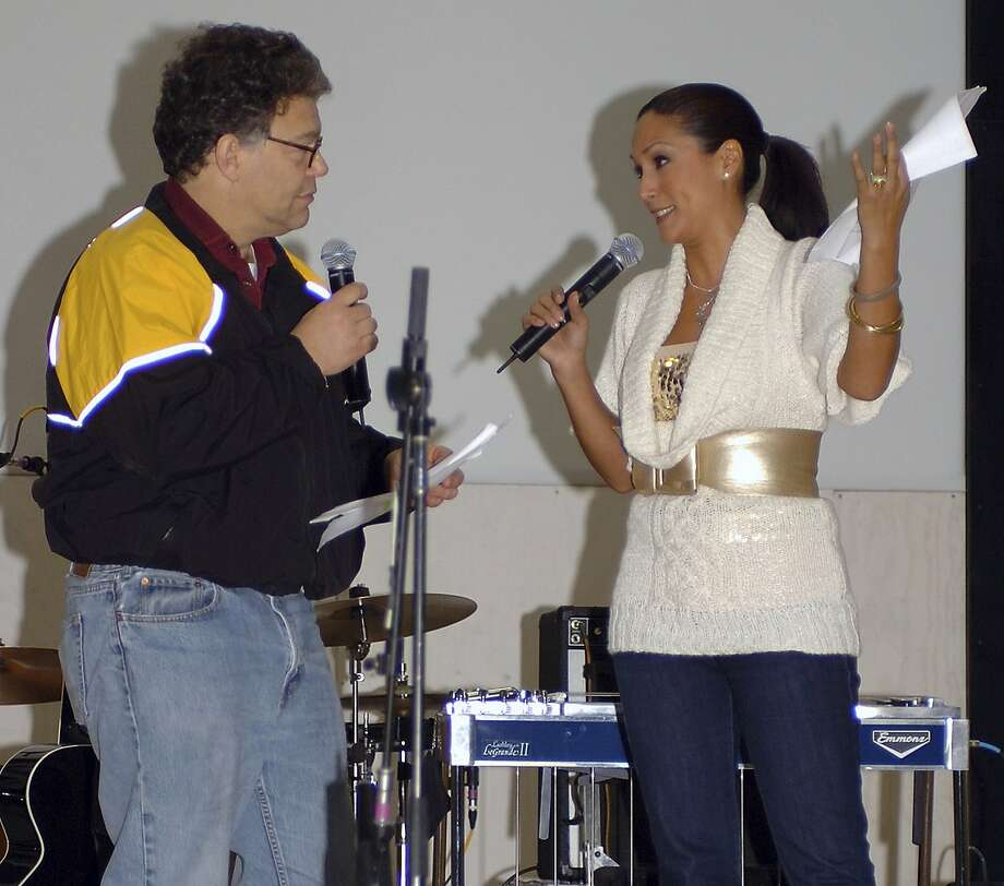 Sen. Al Franken has announced his resignation from the Senate in 2017 after accusations of sexual harassment. Leeann Tweeden, shown above, accused the senator of groping her while they were touring with the USO before Franken took office. Subsequent accusations were made for alleged actions while Franken was in office. Photo: Creighton Holub, Associated Press