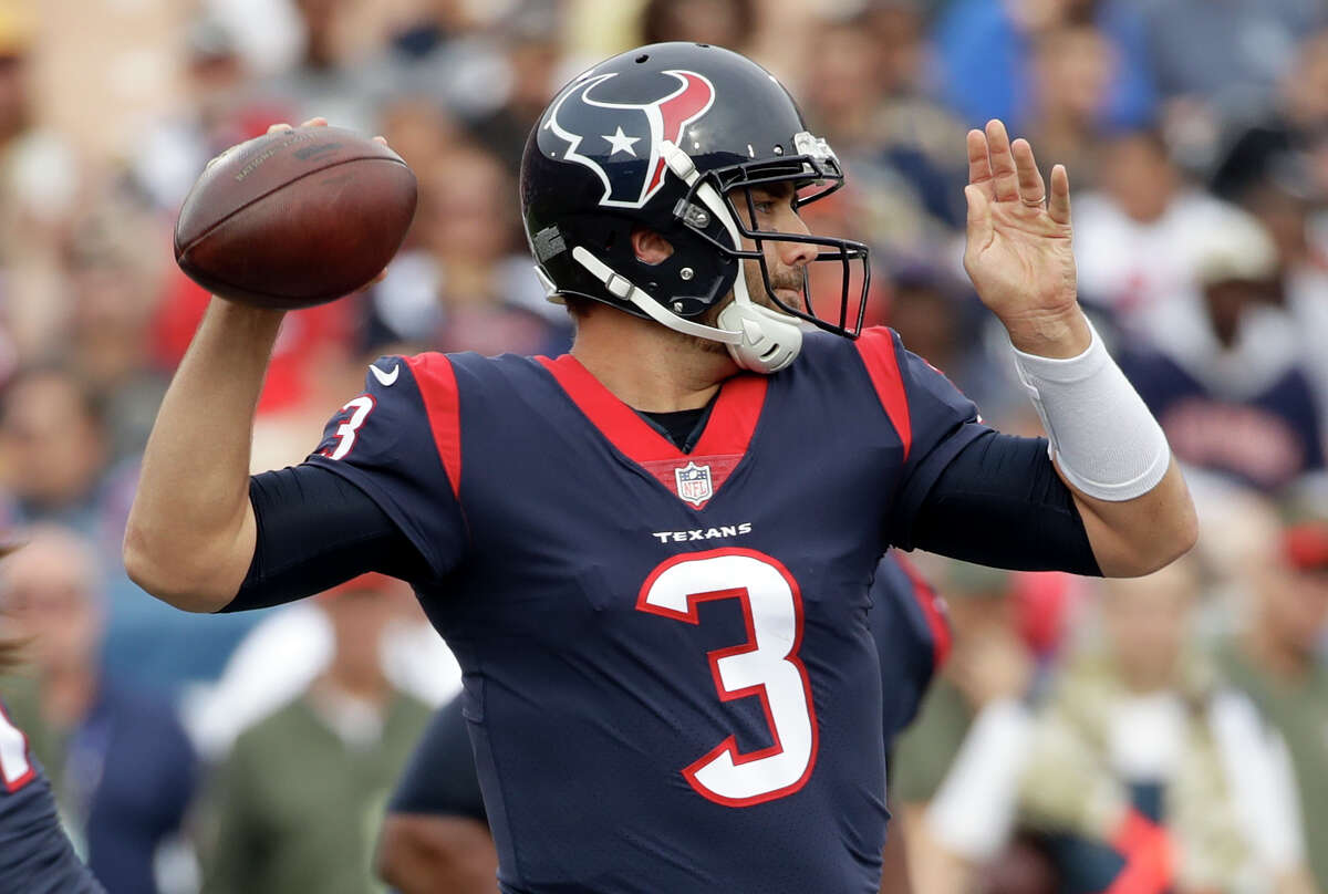 TEXANS' THREE KEYS TO VICTORY 1. Quarterback Tom Savage needs to throw more accurately, not commit turnovers and become consistent for all four quarters.