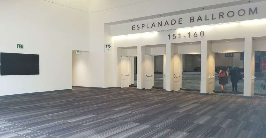 The expansion included a new entrance to the Esplanade Ballroom. Modified vehicles will be exhibited in the Esplanade Ballroom.