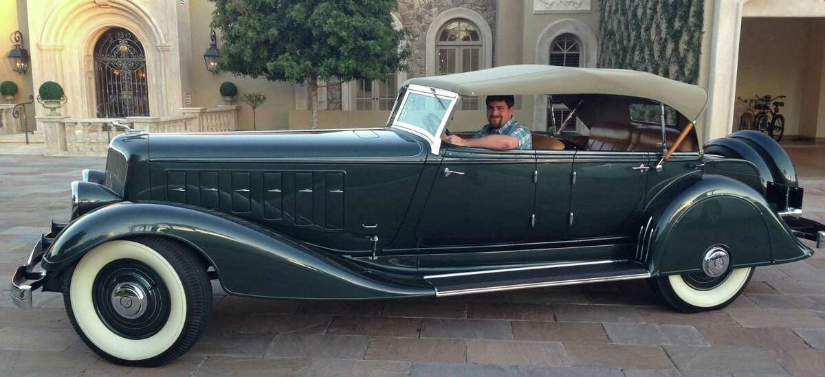 The 1933 Chrysler Imperial Phaeton will be on display at the Academy of Art University vintage car exhibit at The San Francisco Chronicle 60th annual International Auto Show.