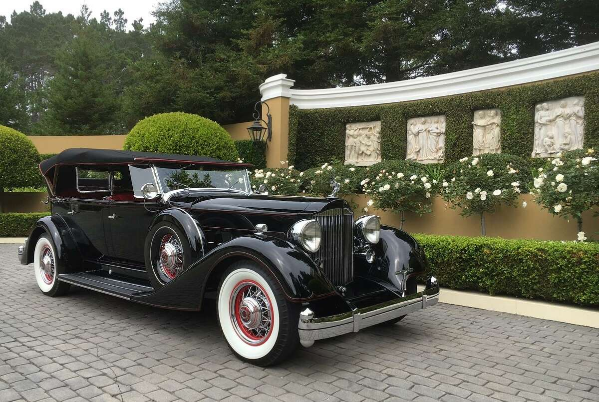 The 1934 Packard is part of the Academy of Art University's car collection.