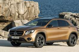 The 2018 Mercedes-Benz GLA250 will be available for a test drive at the auto show.