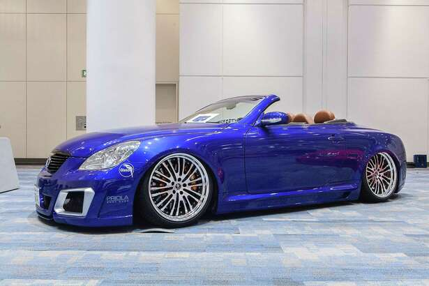 Dubbed the San Francisco Auto Salon, the modified-car show is in the Esplanade Ballroom at the Moscone Convention Center.