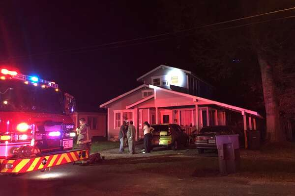 Port Arthur Fire Department responded to two calls in a row to reports of house fires Friday evening.