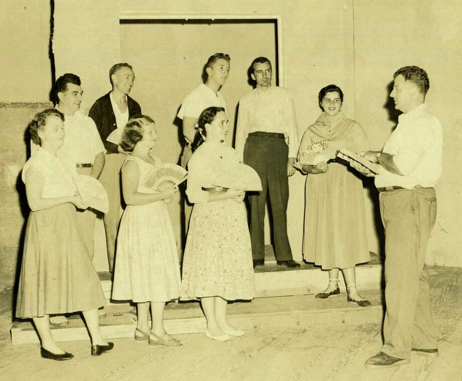 The Gunn Historical Museum's Washington History Club at Night will meet in the Wykeham Room of the Gunn Library on Tuesday, Nov. 21 at 6:30 p.m. The topic of discussion will be The Dramalites. Many residents have been involved in this long existing community performance group which has provided a theater experience for generations of Washington's residents. Join us for a lively conversation about its history, those who were involved in the organization, and the plays they performed. Bring your favorite stories and memories to share. All are welcome and the event is free. Photo: Contributed Photo/Not For Resale