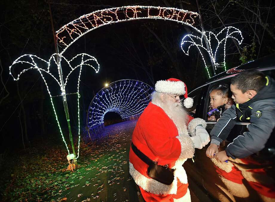 Visit Fantasy of Lights, New Haven's Christmas light display before it closes on Dec. 31. Find out more. Photo: Catherine Avalone / Hearst Connecticut Media / New Haven Register