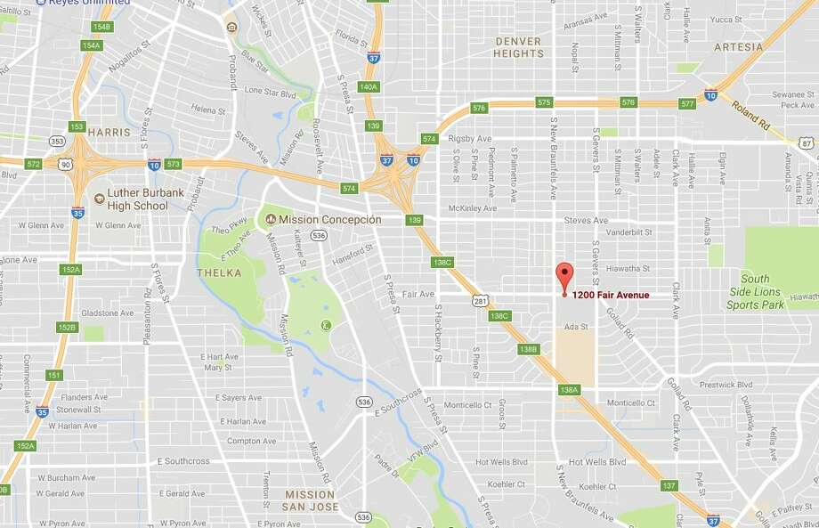 A fire on the 7th story of an 11-story building caused the evacuation of all residents of the Fair Ave. Apartments Friday Nov. 17, 2017. Photo: Google Maps