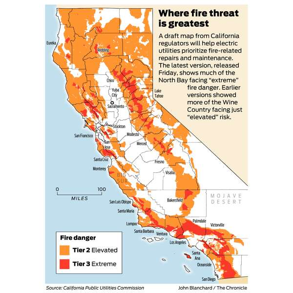 Santa Ana Fire Map.Why Tougher Fire Safety Rules For Utility Companies Took 10 Years