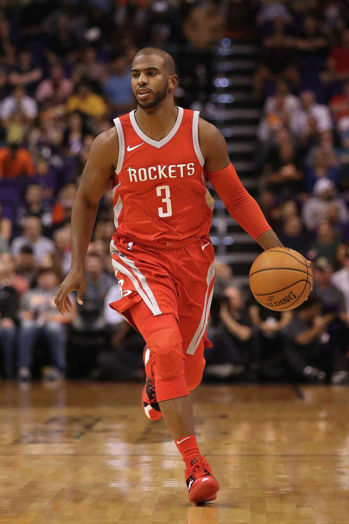Chris Paul's return from injury means the Rockets' rotation will adjust and that most players will have to settle for playing fewer minutes.