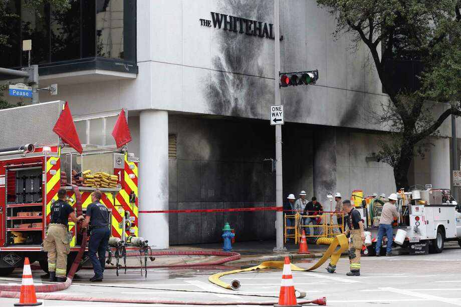 A temporary restraining order was issued Friday to preserve evidence of the blast at the Whitehall Hotel. Photo: Brett Coomer, Staff / © 2017 Houston Chronicle