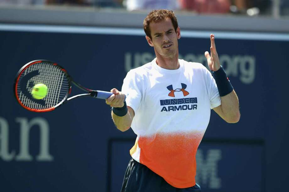 NEW YORK, NY - AUGUST 26:  Andy Murray of Great Britian in action during a practice session prior to the US Open Tennis Championships at USTA Billie Jean King National Tennis Center on August 26, 2017 in New York City.  (Photo by Clive Brunskill/Getty Images) ORG XMIT: 775028237 Photo: Clive Brunskill / 2017 Getty Images