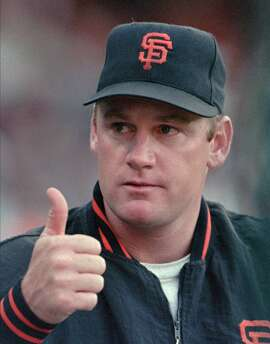 San Francisco Giants hobbled star Matt Williams gave a thumbs up to a fan early in the game the Giants later lost to the Houston Astros 13-8, Friday, July 14, 1995, in San Francisco. The broken bone in Williams' right foot will still take about two weeks more to heal. (AP Photo/Susan Ragan)  Ran on: 08-15-2004 Tony Gwinn had a chance to be the first .400 hitter in 53 years.  Ran on: 08-15-2004 Tony Gwynn had a chance to be the first .400 hitter in 53 years.