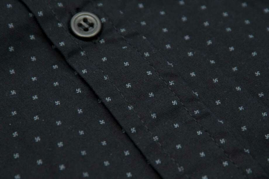 A close-up of the shirt. Photo: Bloomberg Photo. / Bloomberg