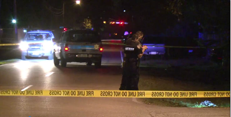 Man shot in stomach after suspect reportedly tries to take his phone