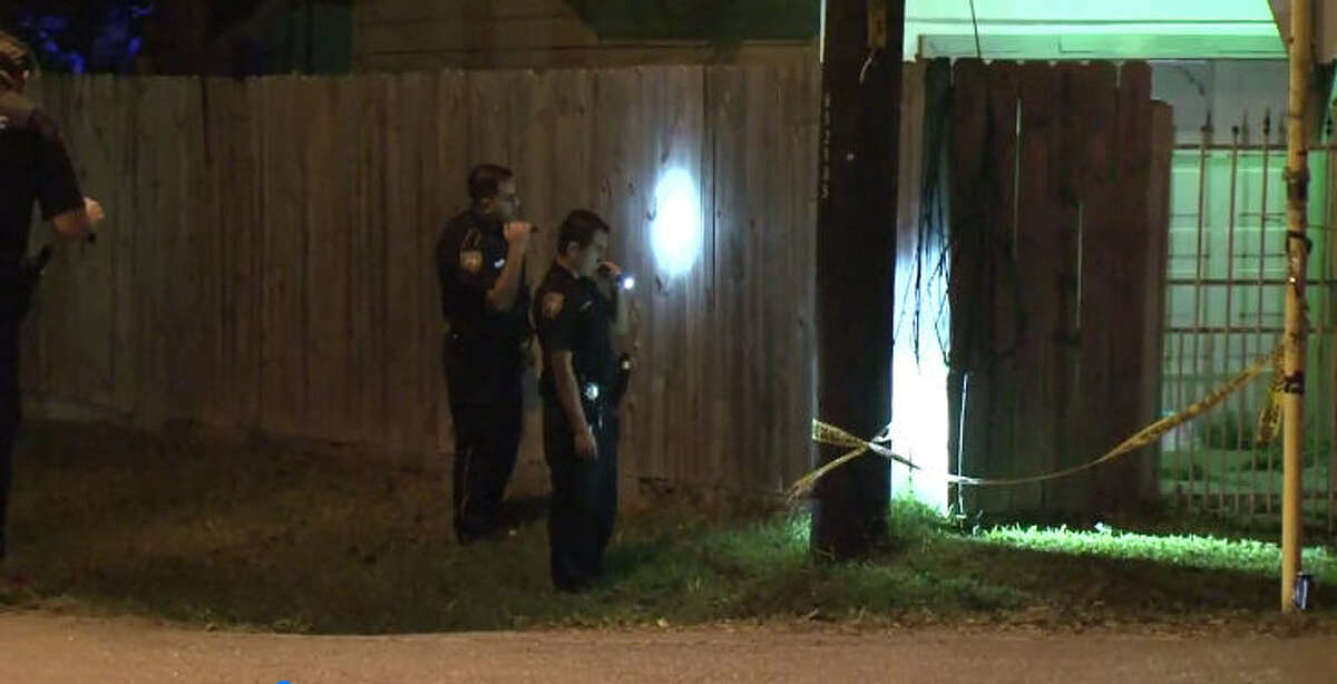 Deputies from the Harris County Sheriff's Office are investigating after a man was robbed and shot in the stomach Friday night in north Houston.