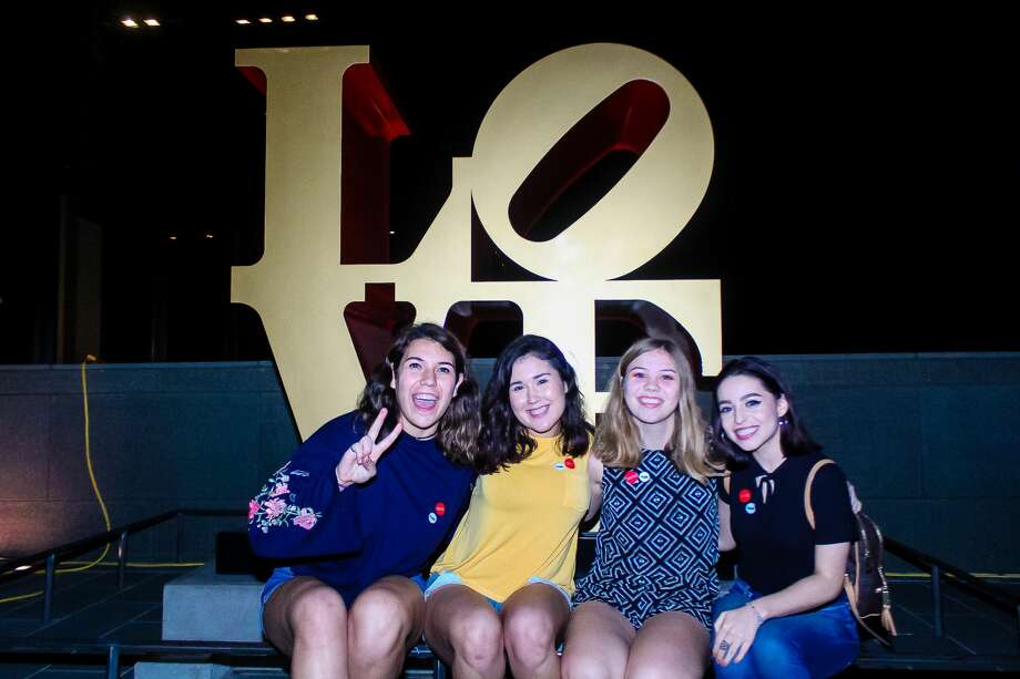 The McNay Art Museum hosted its latest college mixer Friday night, Nov. 18, 2017. Photo: Jason Gaines For MySA