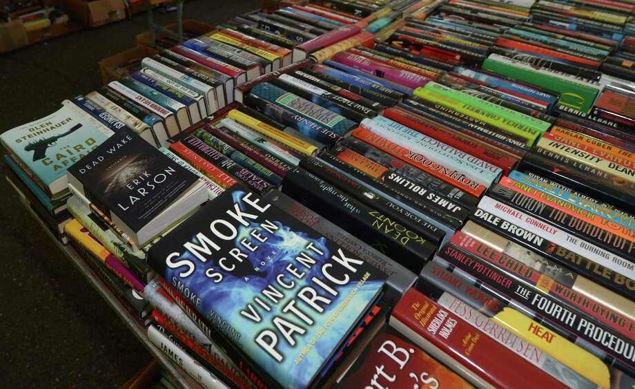 Milford Library's book sale will take place Dec. 8-9. Photo: Erik Trautmann / Hearst Connecticut Media / Norwalk Hour