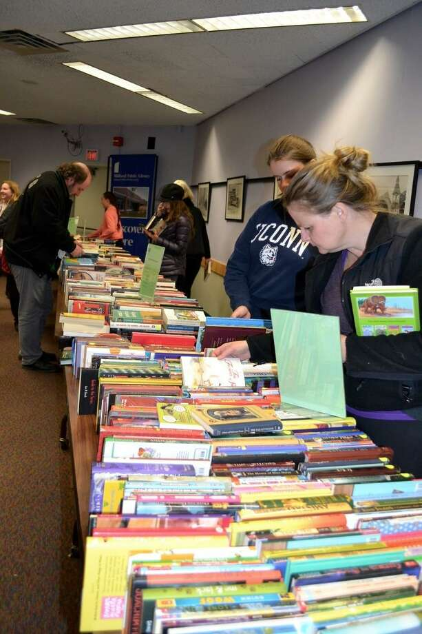 Milford Library's Holiday Book Sale will take place Friday and Saturday. More than 2,000 books will be on sale and hot cider and coffee will be served. Find out more. Photo: Contributed Photo / Hearst Connecticut Media