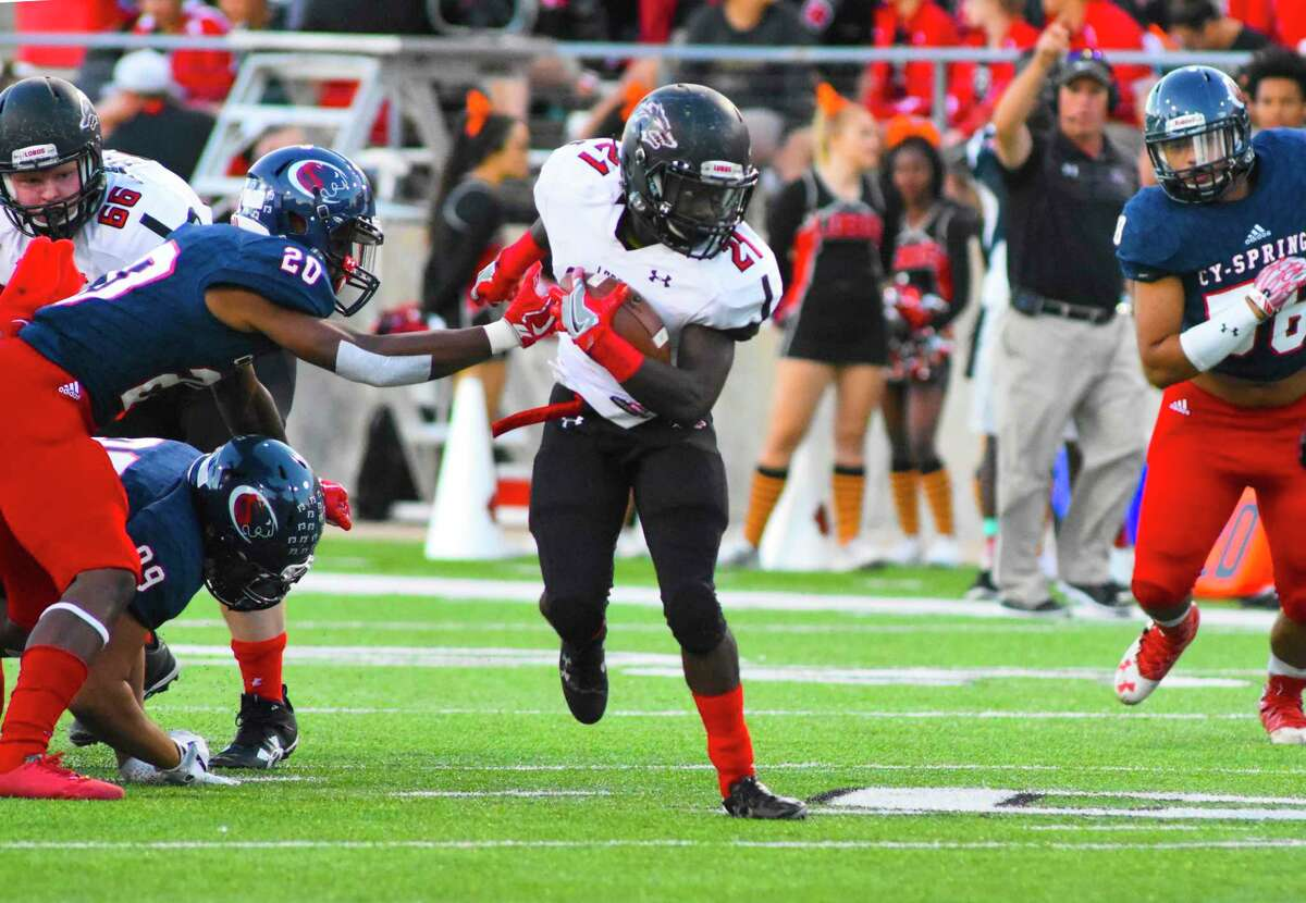 Chris Mehn added 84 yards on 14 carries and a touchdown for Langham Creek.