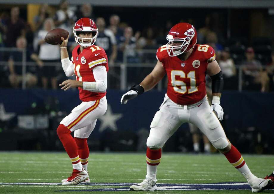 Quarterback Alex Smith and the Chiefs face the Giants on Sunday. Photo: Michael Ainsworth / Associated Press / FR171389 AP