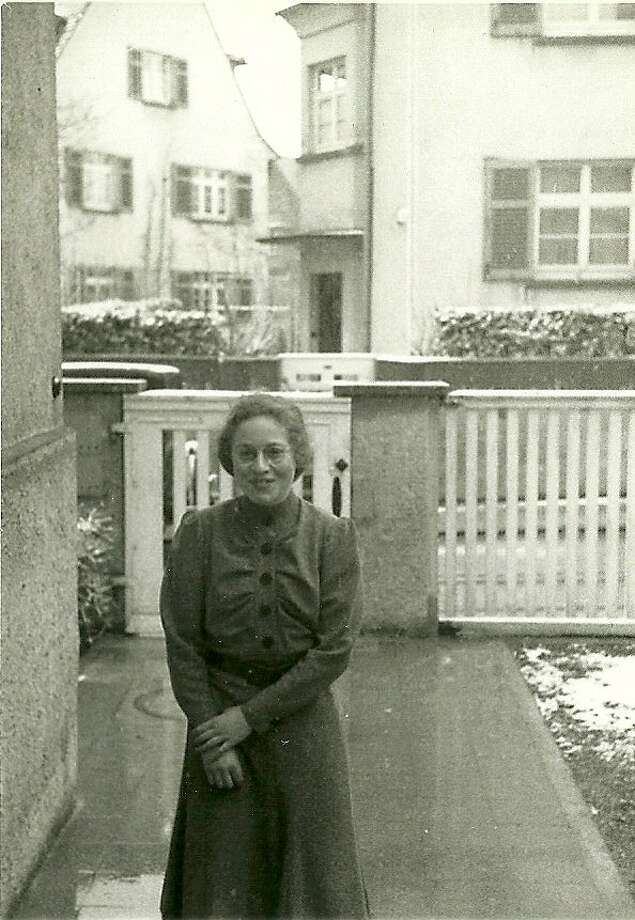 Lore Murr, later to marry and become Lore Feldman, at 14 in her hometown of Ulm, Germany. Photo: --
