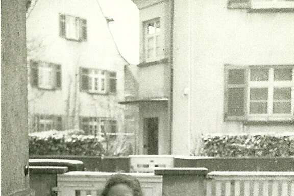 Lore Murr, later to marry and become Lore Feldman, at 14 in her hometown of Ulm, Germany.