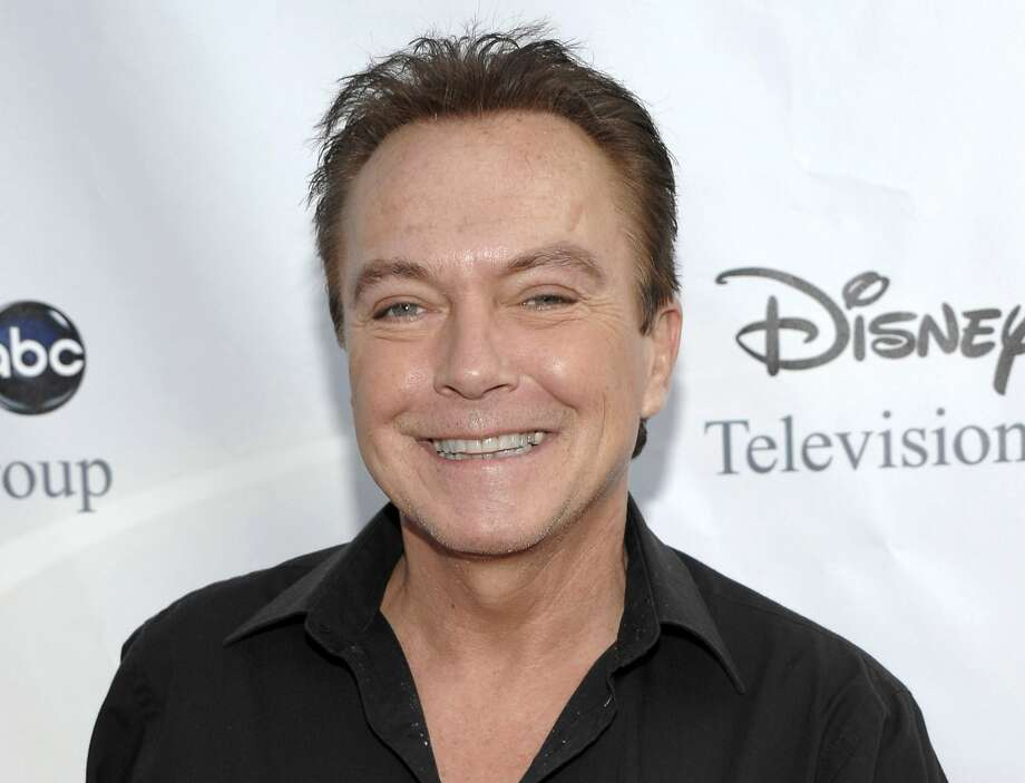 This Aug. 8, 2009 file photo shows actor-singer David Cassidy arrives at the ABC Disney Summer press tour party in Pasadena, Calif. Photo: Dan Steinberg, Associated Press