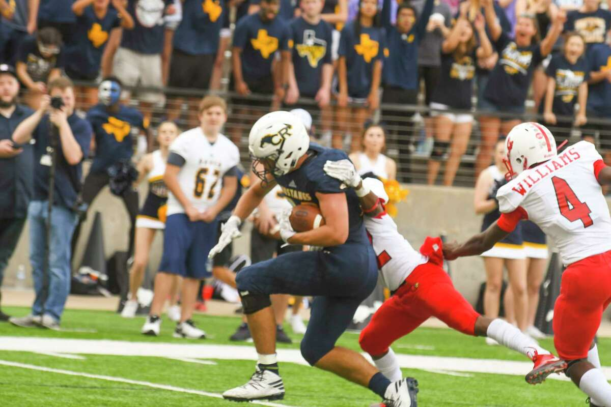 Later in the first quarter, McDougal found Michael Knapton for a 4-yard touchdown pass and the rout was on.