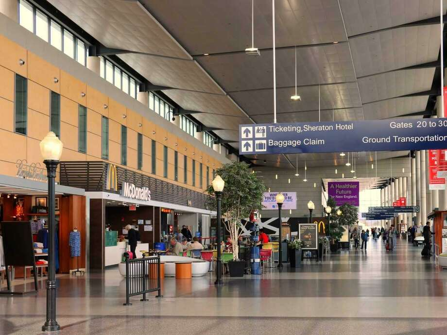 Bradley International Airport's terminal is undergoing an upgrade of its concessions that travelers can avail themselves of after going through security. Photo: Contributed Photo