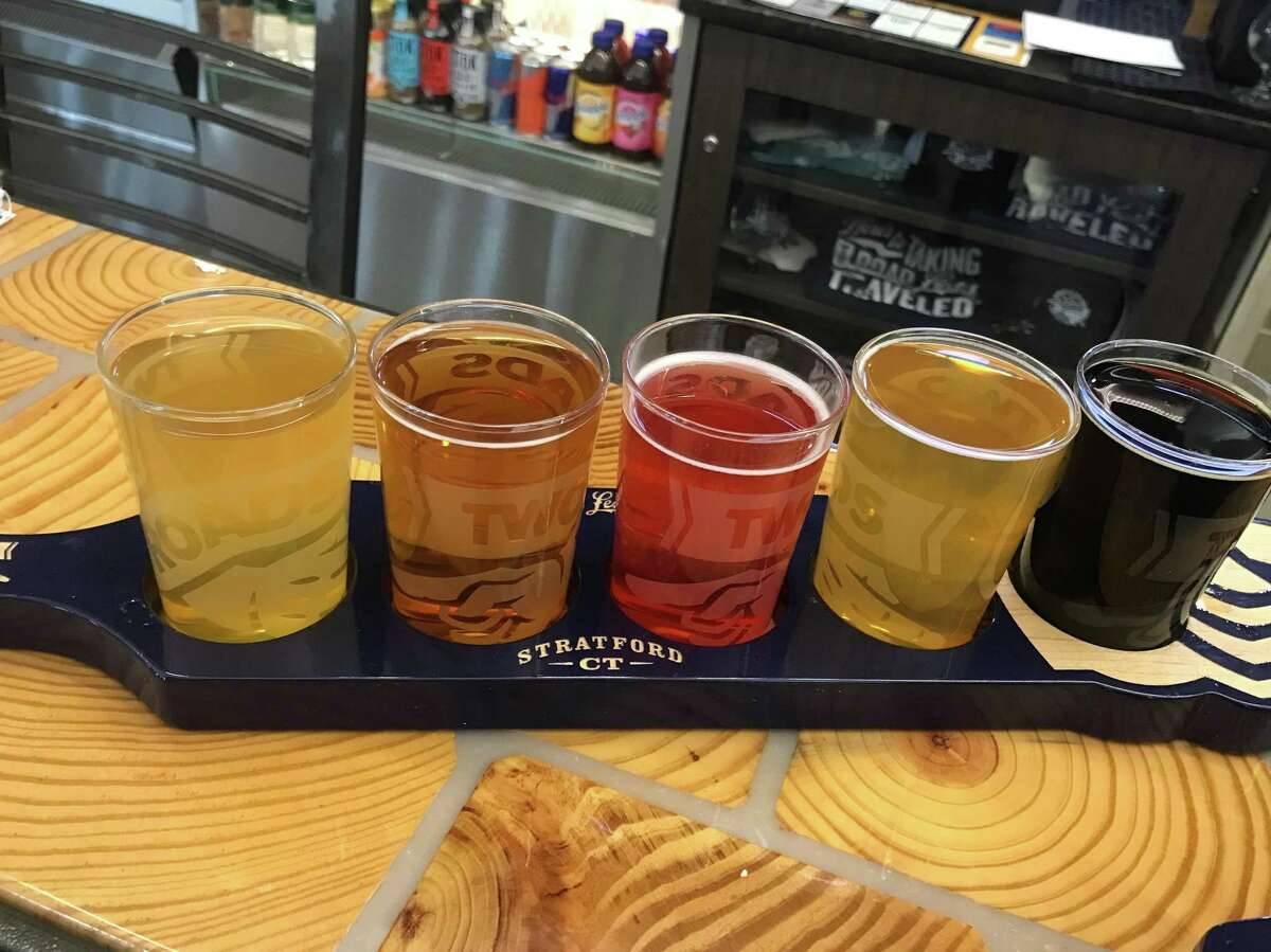 """""""Roadsmary's Baby""""- Two Roads Brewing Co. Two Roads has a beer called """"Roadsmary's Baby"""" (a punny pumpkin ale) and """"Igor's Dream,"""" an Imperial Russian Stout named for Igor Sikorsky."""