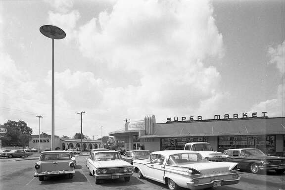 This photo of the Centeno on West Commerce Street at Las Moras was taken in June 1967. Opened in 1948, it was known as No. 1 as the Centeno family opened more supermarkets.