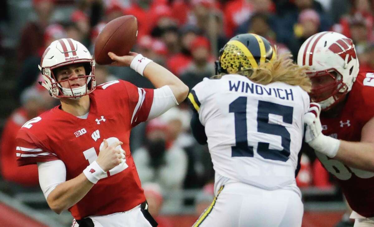 """Wisconsin Badgers Revenue: $78 million Profit: $43 million Rank: 24 """"UW Athletics received more than $39.7 million in conference media contract revenue in the 2017-18 fiscal year, nearly double its take from the previous year."""""""