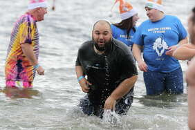 Were you Seen at the 11th Annual Lake George Polar Plunge, a benefit for Special Olympics NY held at Shepard's Park Beach, Lake George on Saturday, Nov. 18, 2017?