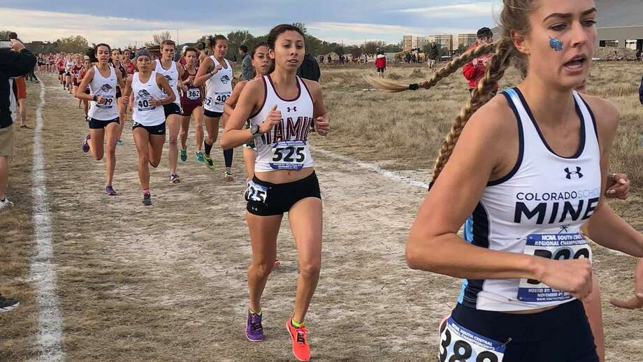 Laredoan Rebekah Hernandez finished her career at TAMIU Saturday at the Division II NCAA Championships finishing 113th out of 247 runners. Photo: Courtesy Of TAMIU Athletics