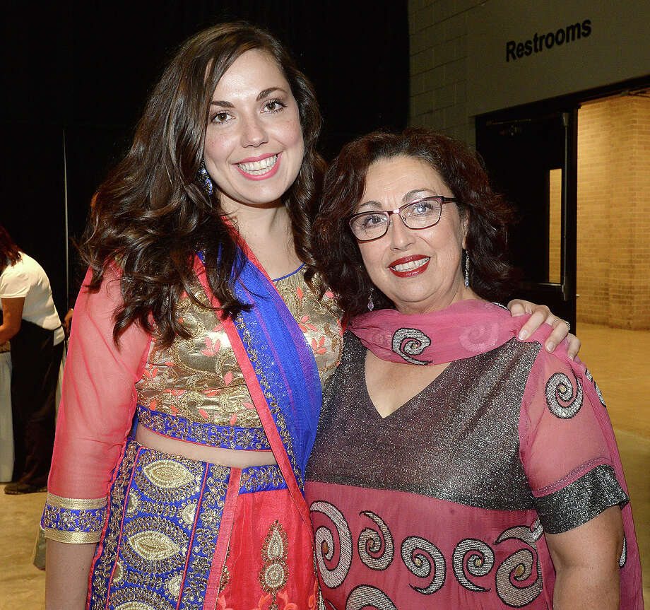 Lucia and Magdalena Babar were at India Fest at the Beaumont Civic Center Saturday. Photo taken Saturday, November 18, 2017 Kim Brent/The Enterprise Photo: Kim Brent / BEN