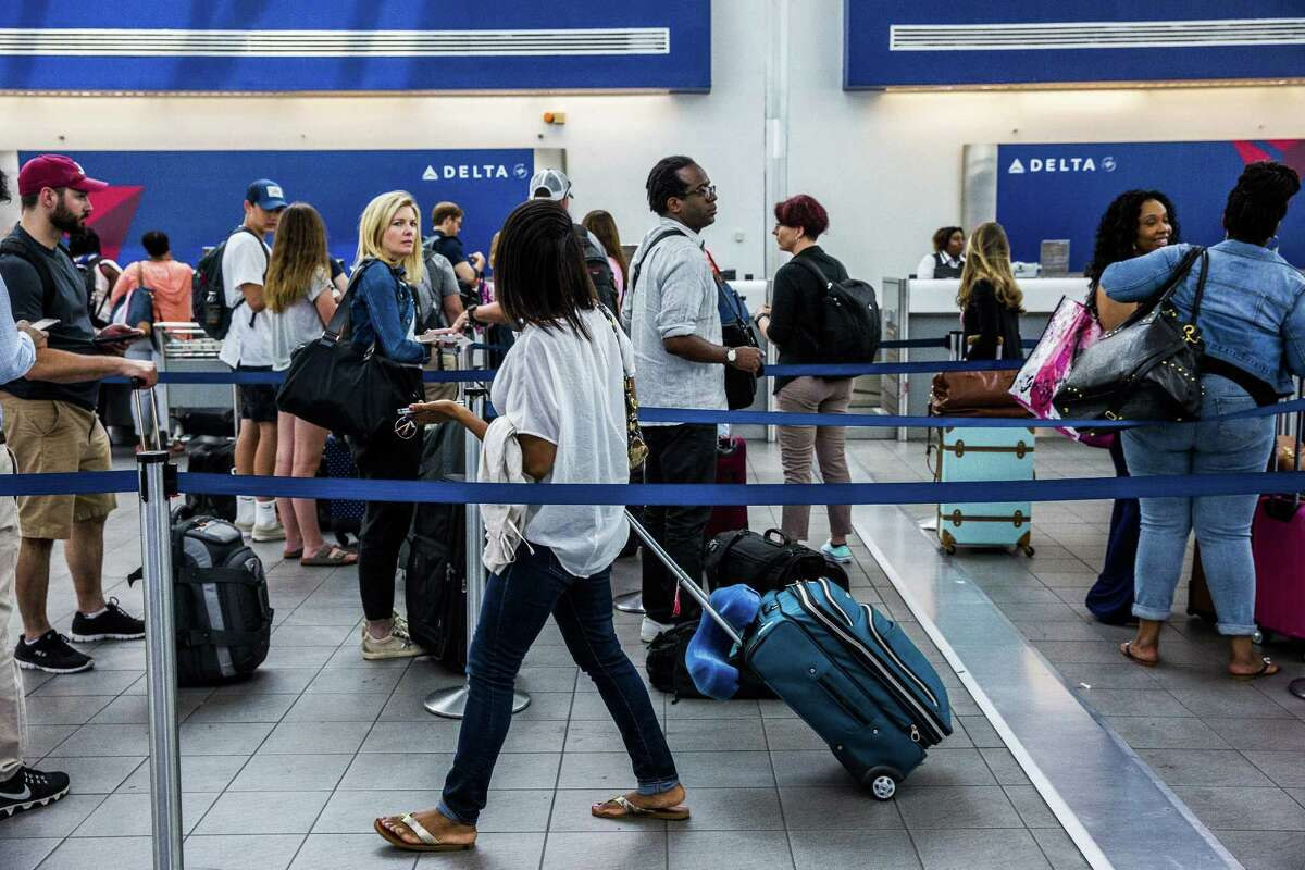 10. Delta Air Lines Percentage of flights delayed: 9 Percentage of flights cancelled: .1 Average minutes fights are delayed: 53