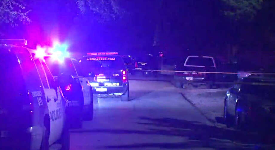 One person died after a six-man shoot-out in Acres Homes. Photo: Metro Video
