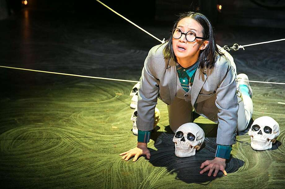 "Grace Ng plays Wilhelm in Shotgun Players' ""Black Rider."" Photo: Cheshire Isaacs, Shotgun Players"