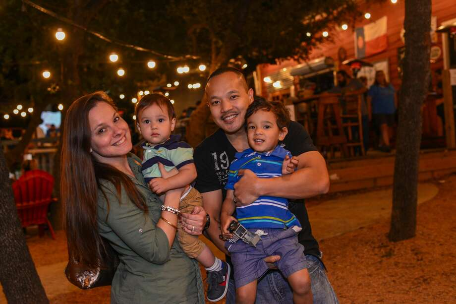 Hungry food truck aficionados traveled to the city's Northwest Side for the grand opening of 151 Saloon's food truck park Saturday, Nov. 18, 2017. Photo: Kody Melton For MySA