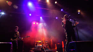 She Wants Revenge performs at PlayStation Theater in New York on Nov. 16, 2017.