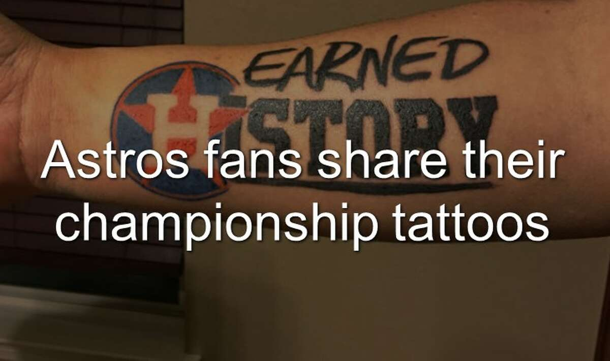 Following the Astros' first-ever World Series Championship win, fans dedicated the win with honorary tattoos.
