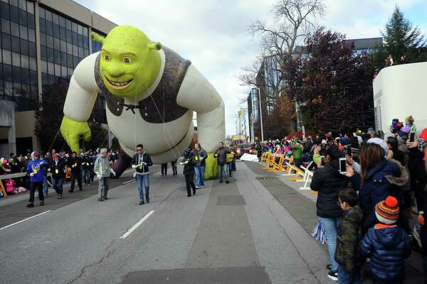 Photos from the 24th annual Stamford Downtown Parade Spectacular in downtown Stamford, Conn. on Sunday, Nov. 19, 2017.