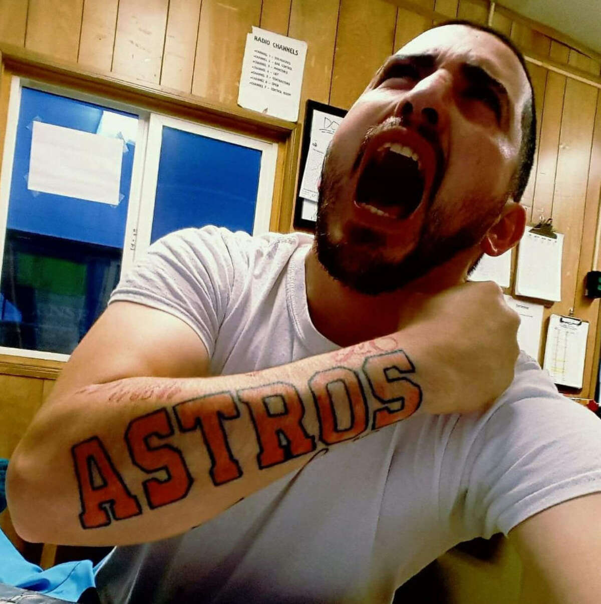 Following the Astros' first-ever World Series Championship win, fans commemorated the win with honorary tattoos.