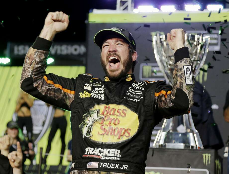 Martin Truex Jr. won the race at at Homestead-Miami Speedway, and also his first season title in NASCAR Cup. Photo: Terry Renna, Associated Press