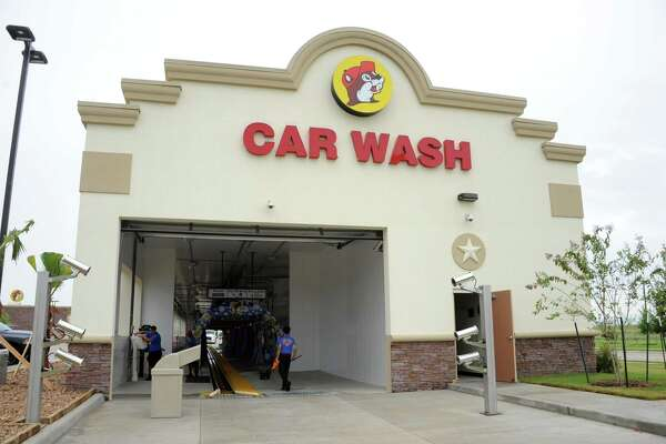 Guinness World Records has officially proclaimed the just opened car wash at the Buc-ee's in Katy the world's longest.