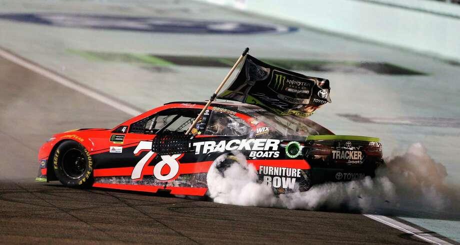 f76ec8a2a0a7a AUTO RACING  Martin Truex Jr. caps career season with 1st NASCAR ...