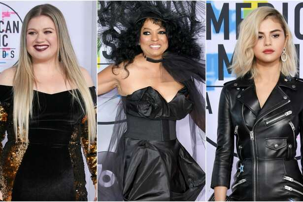 Keep clicking to see which celebrities were named the best and worst dressed at the American Music Awards.